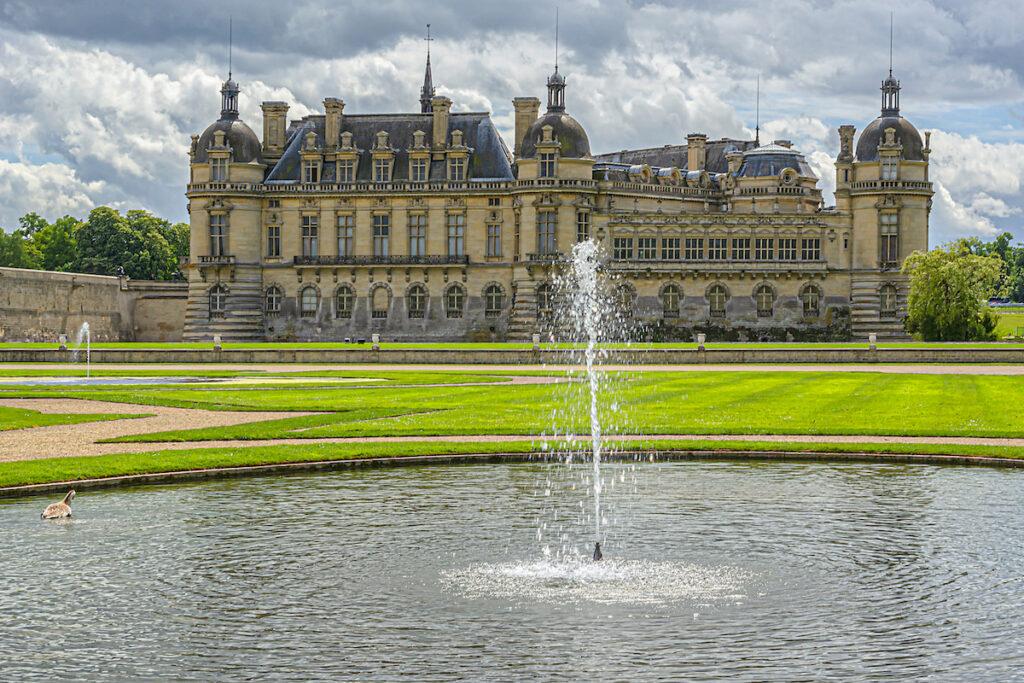 The Le Norte Gardens at the Chateau de Chantilly.