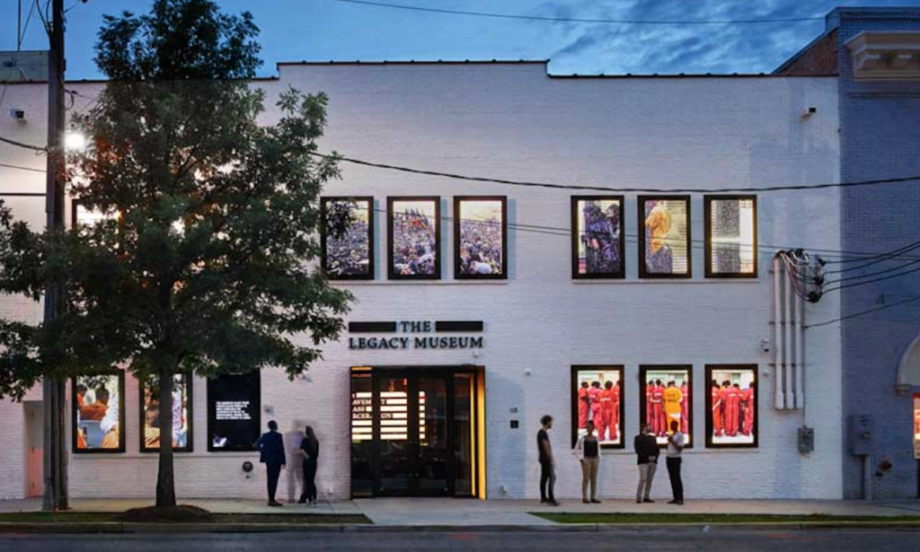 The Legacy Museum in Montgomery.