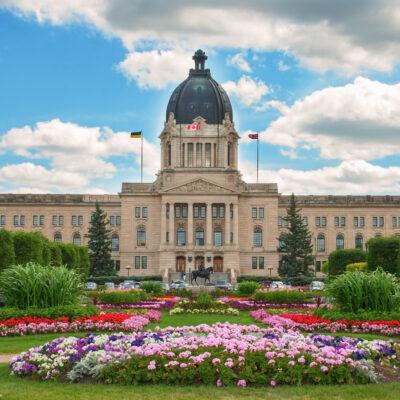The Legislative Building in Regina, Saskatchewan.