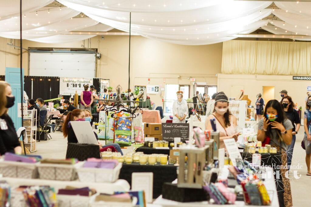 The Lethbridge Handmade Market in Canada.