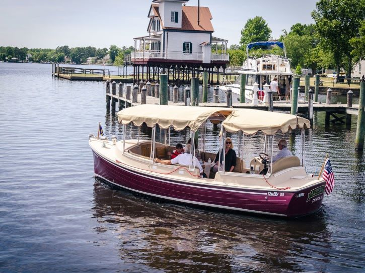 The Liber-Tea Boat Tour in Edenton, North Carolina.
