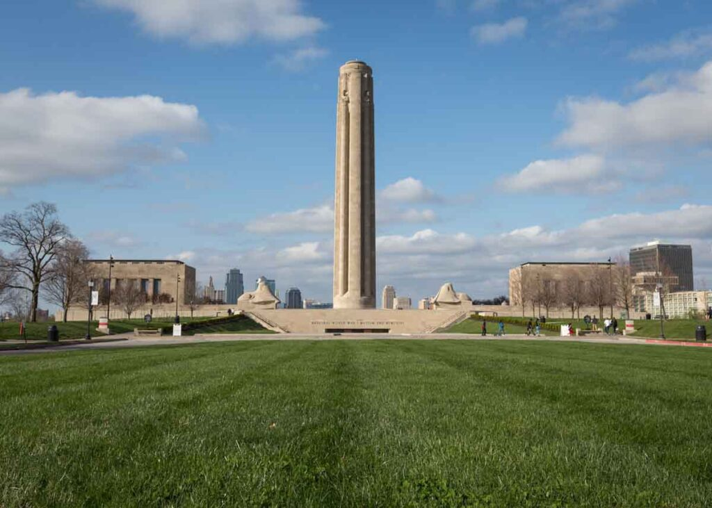 The Liberty Memorial in Kansas City.