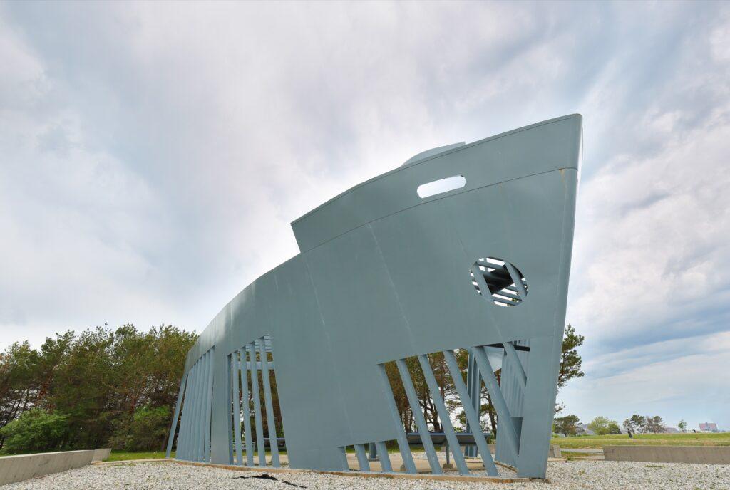 The Liberty Ship Memorial in Portland.