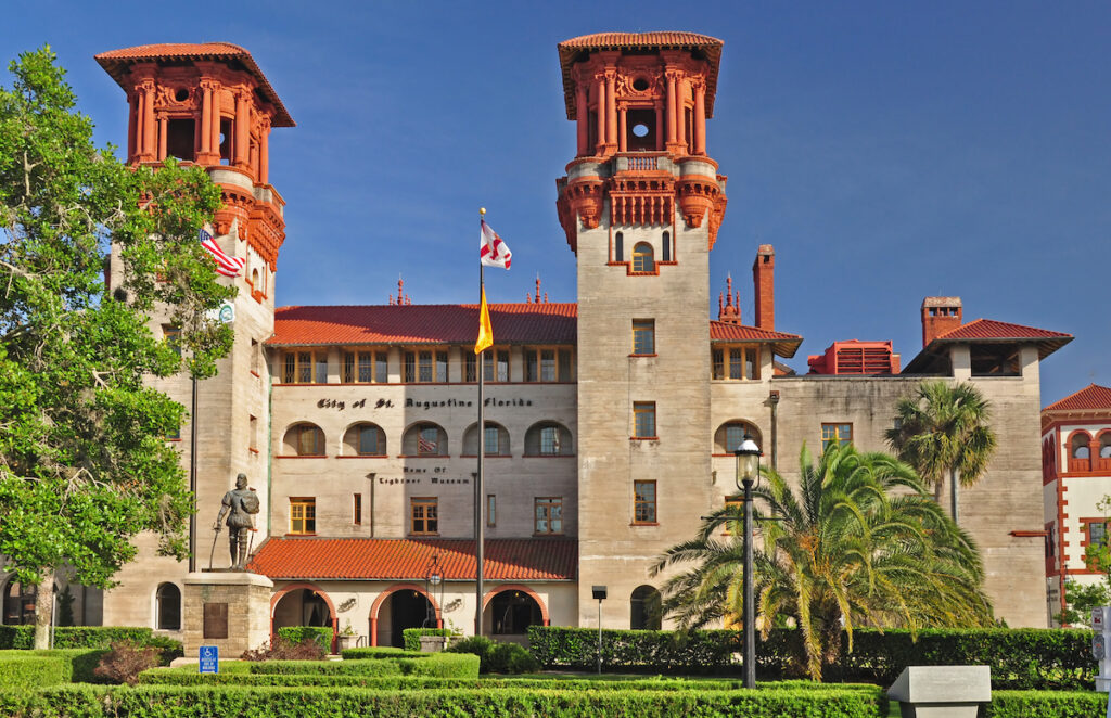 The Lightner Museum in St. Augustine, Florida.