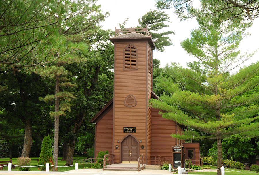 The Little Brown Church in the Vale in Nashua, Iowa.