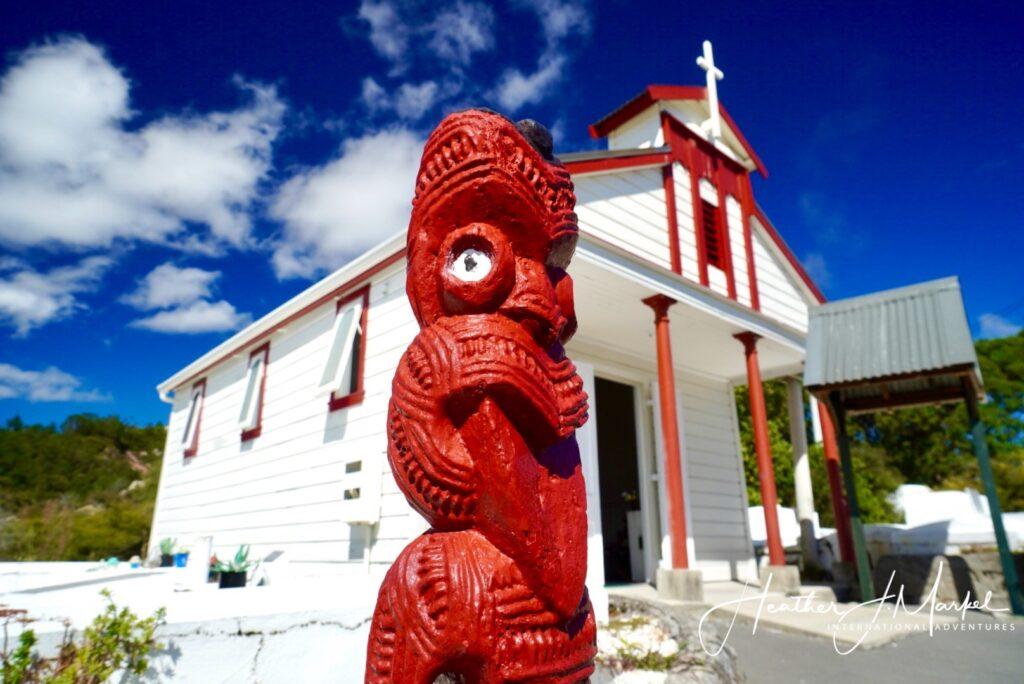The living Maori village of Whakarewarewa.