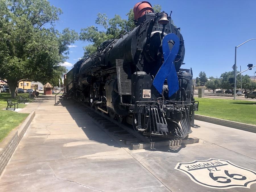 The Locomotive Park in Kingman, Arizona.