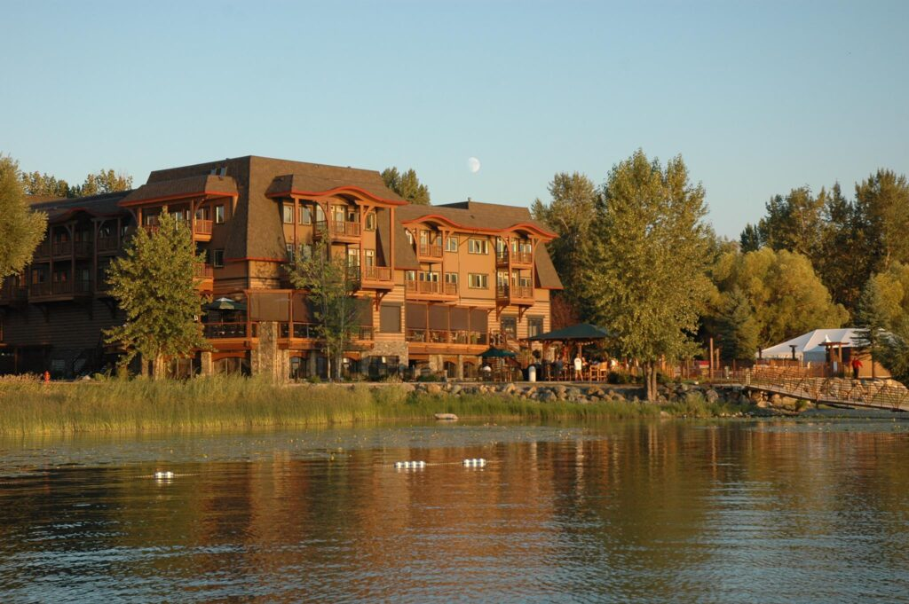 The Lodge at Whitefish Lake in Montana.