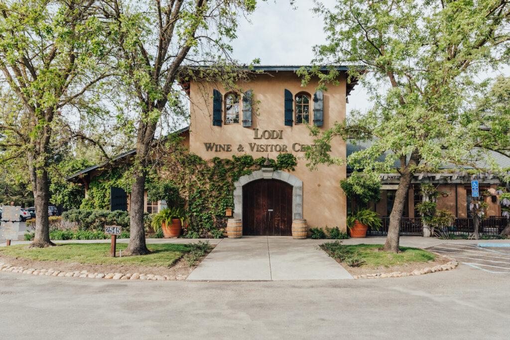 The Lodi Wine and Visitor Center in California.