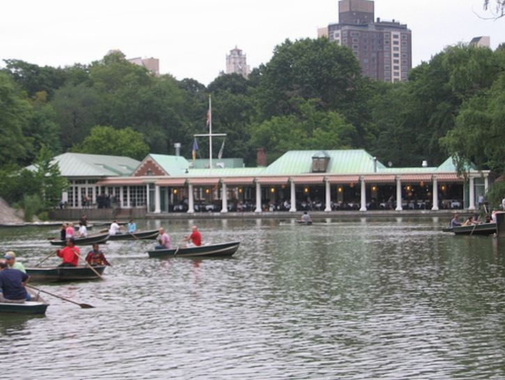 The Loeb Boathouse Restaurant in Central Park