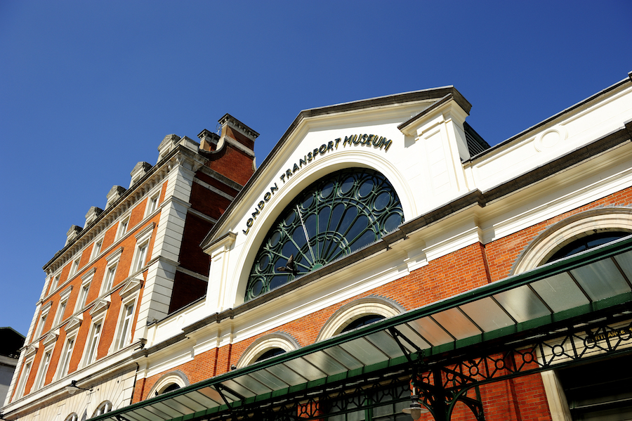 The London Transport Museum in Covent Garden.