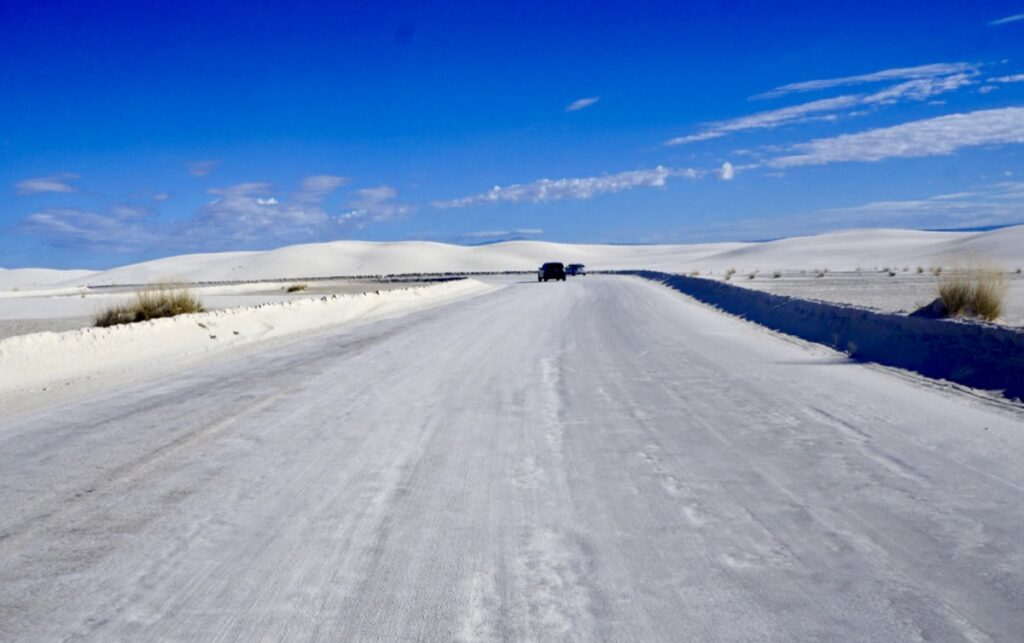 The Loop Road at White Sands.