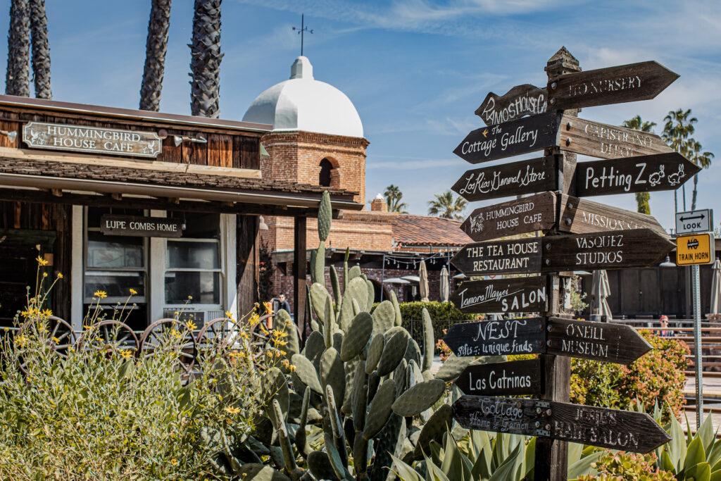The Los Rios Historic District in San Juan Capistrano.