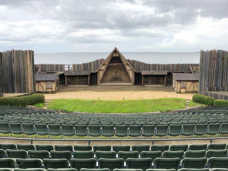 The Lost Colony Theatre in Manteo, North Carolina.
