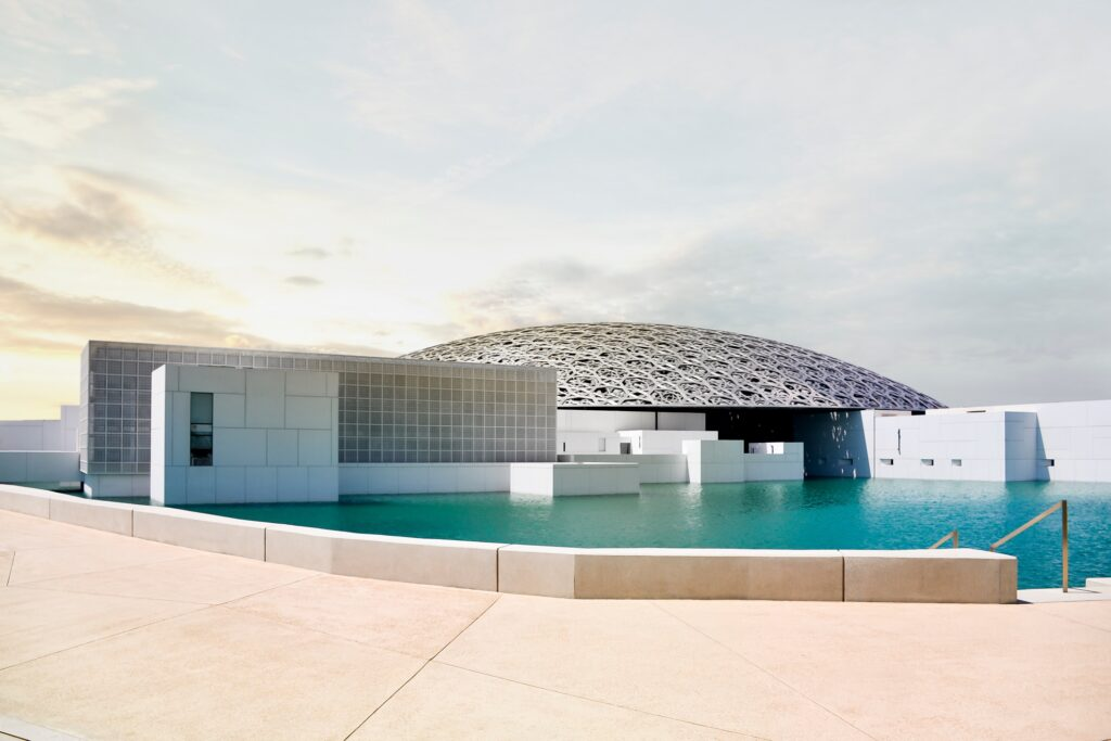The Louvre Abu Dhabi.