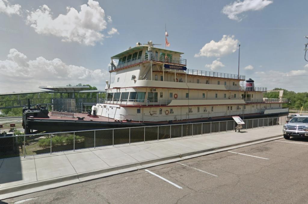 The Lower Mississippi River Museum in Vicksburg.