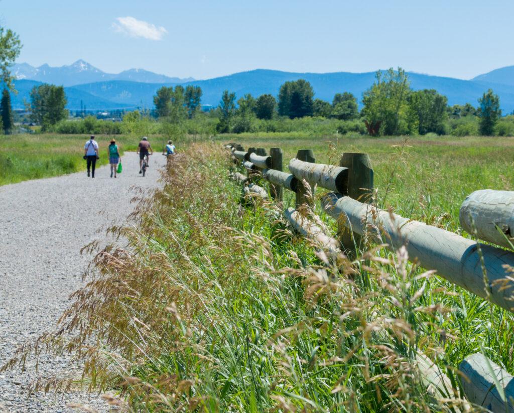 The Lower Mount Ellis Trail in Bozeman.