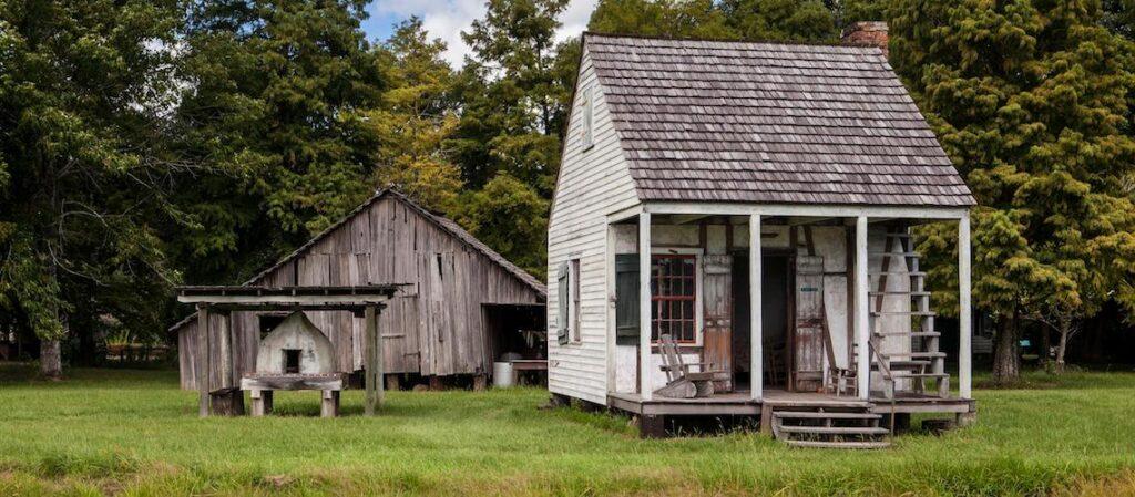 The LSU Rural Life Museum in Baton Rouge.