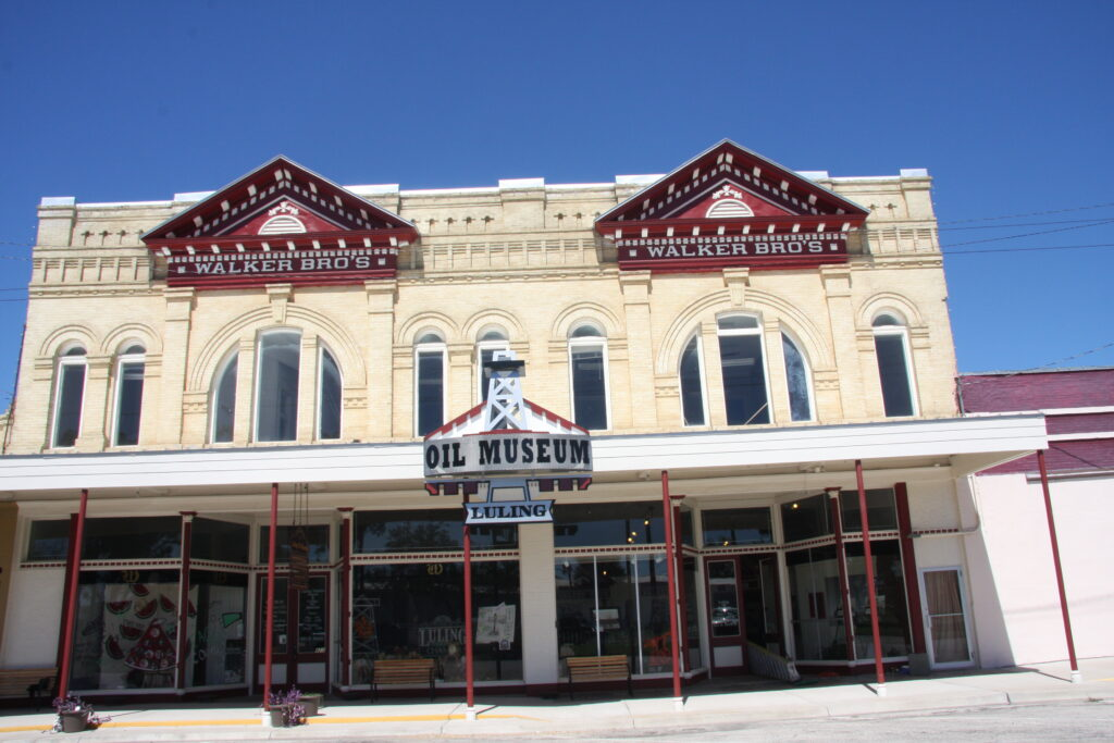 The Luling Oil Museum in Texas.