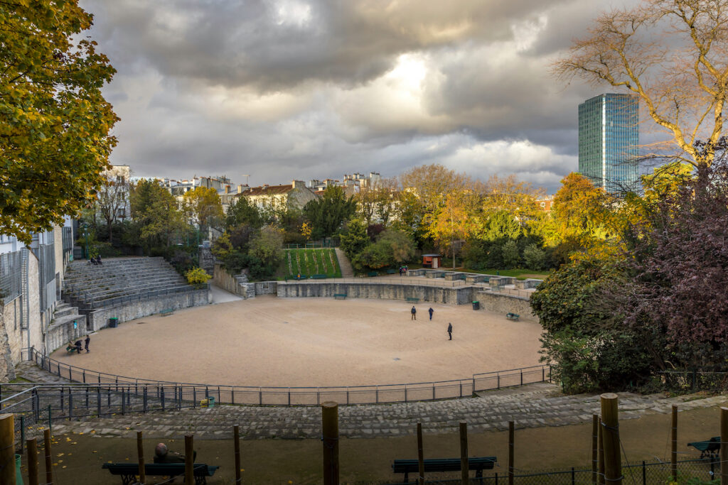 The Lutece Arena in Paris, France.