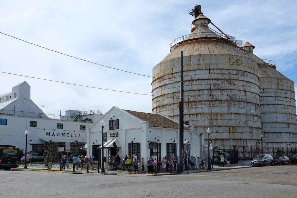 The Magnolia Market and Silos in Waco, Texas.