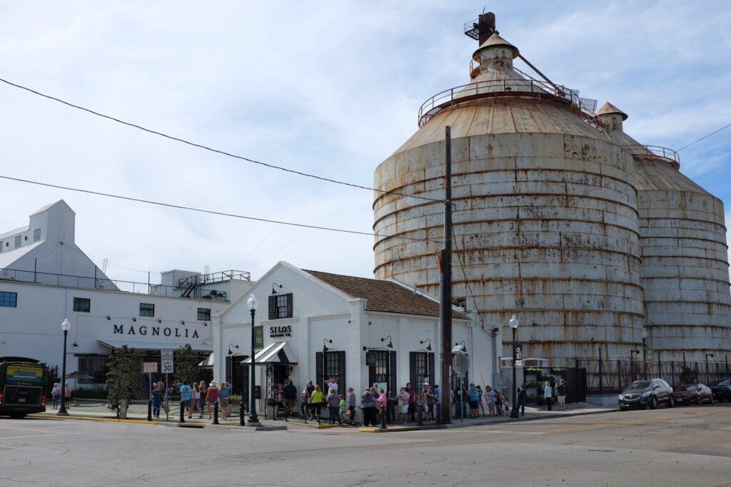 The Magnolia Market at the Silos in Waco.