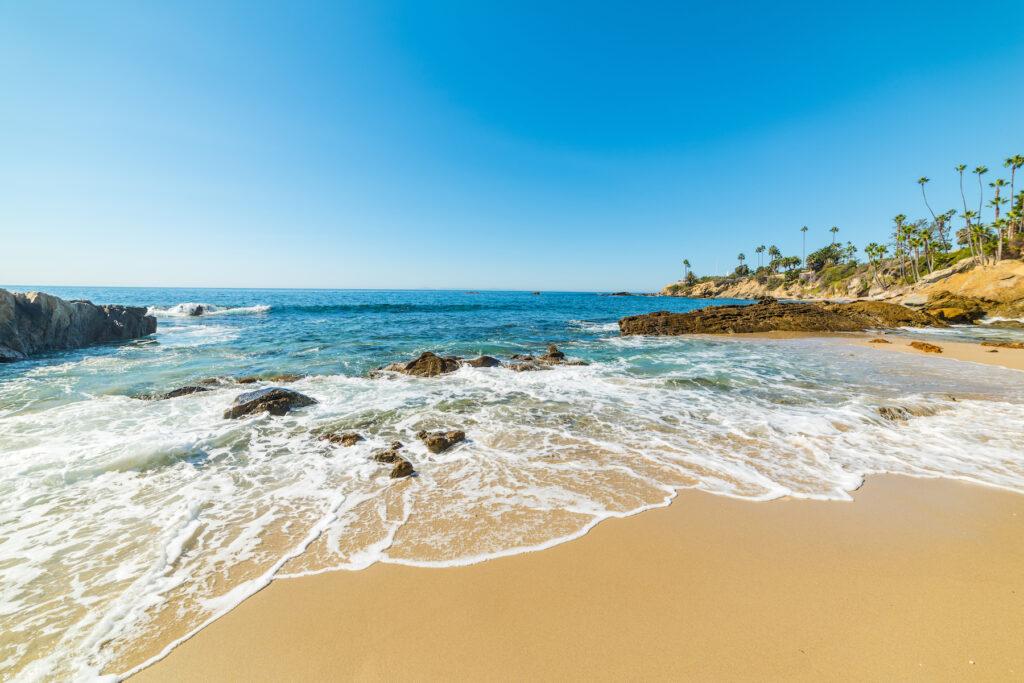 The Main Beach in Laguna, California.