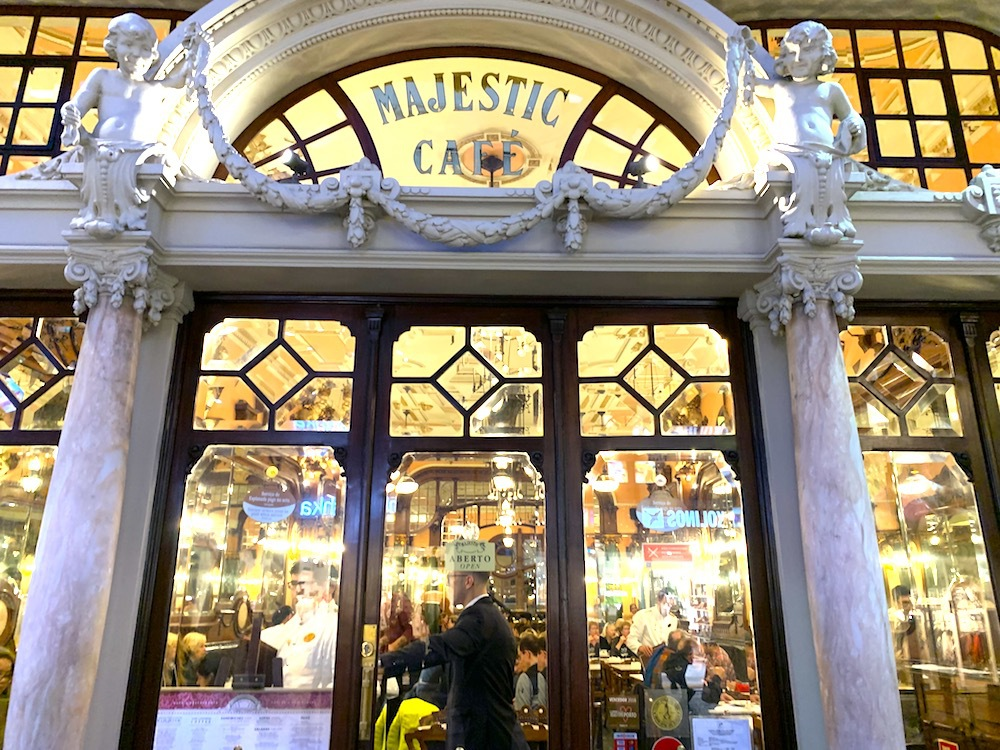 The Majestic Cafe in Porto, Portugal.
