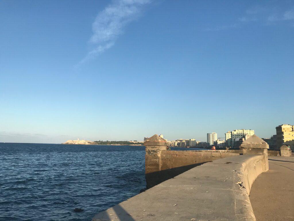 The Malecon in Havana.