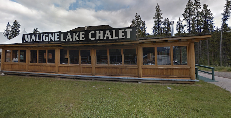 The Maligne Lake Chalet and Guest House in Jasper.