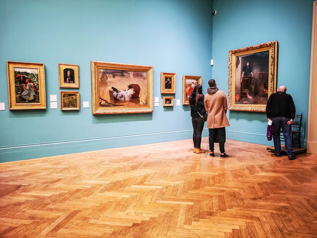 The Manchester Art Gallery in England.