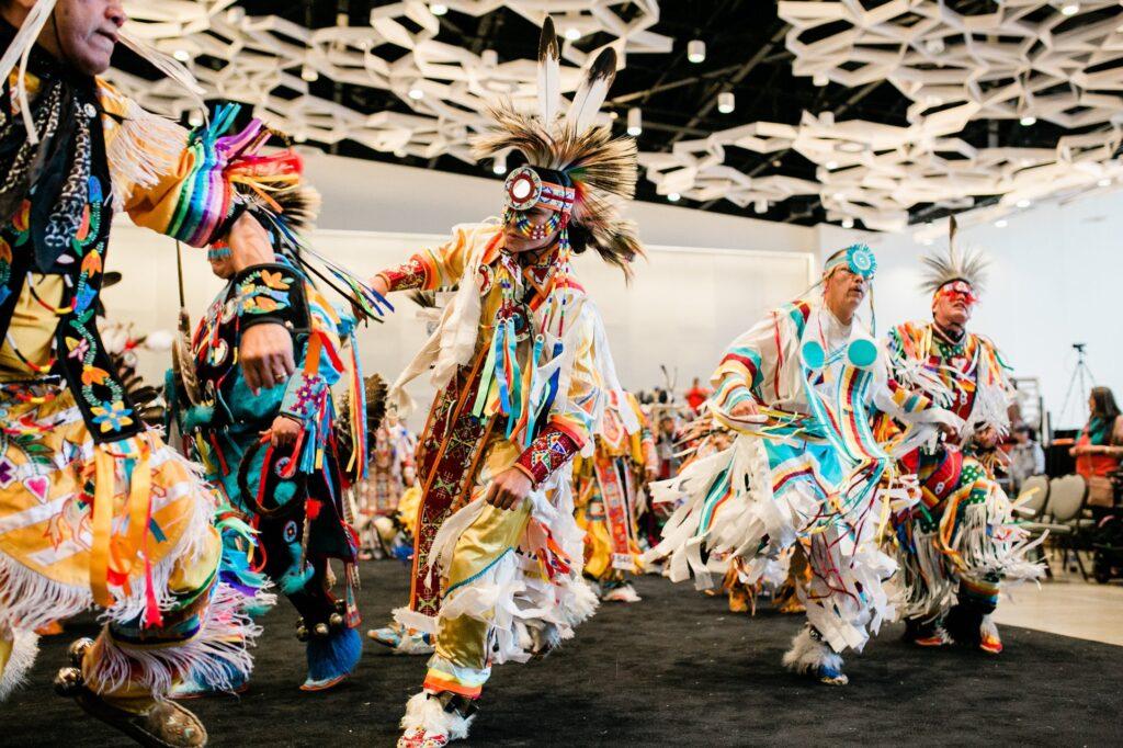 The Manito Ahbee Festival in Winnipeg.