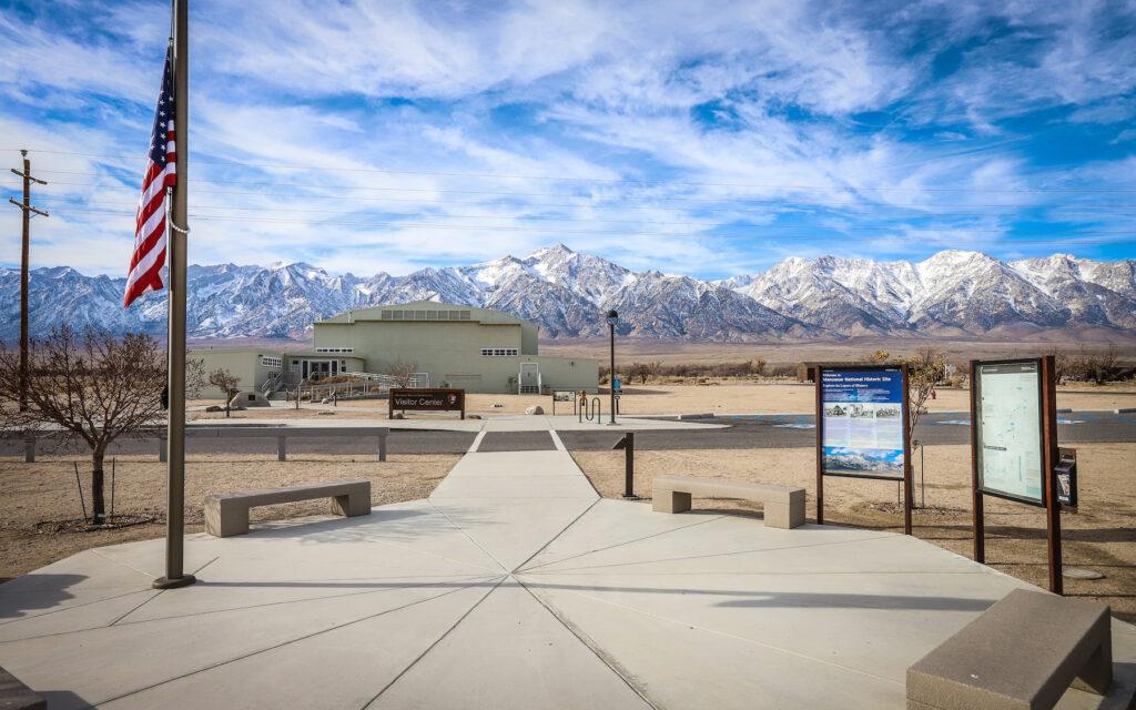 The Manzanar National Historic Site in California.