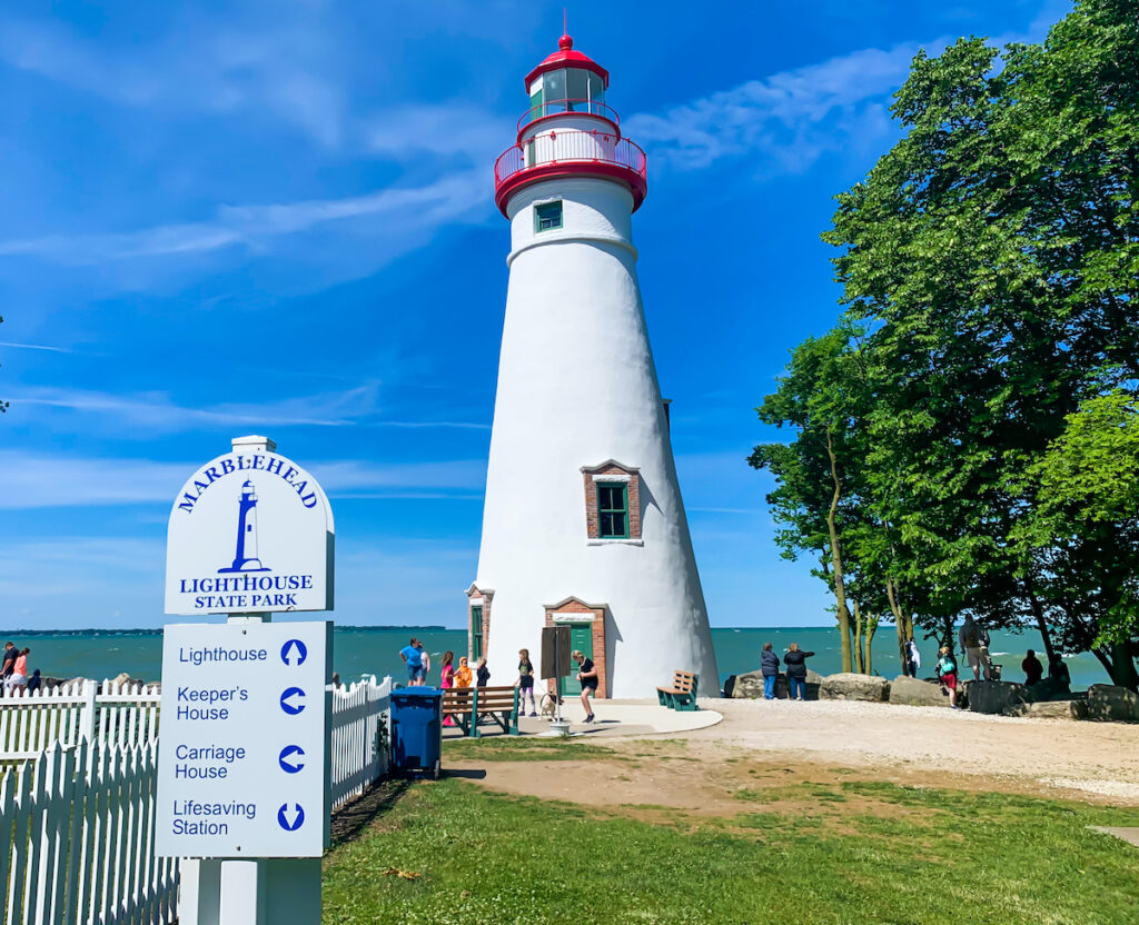 The Marblehead Lighthouse in Ohio.