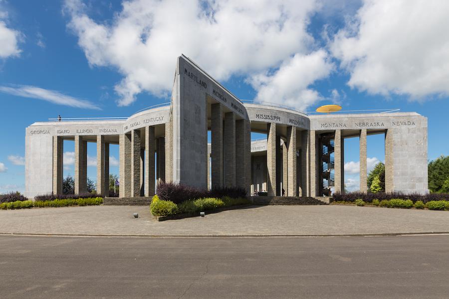 The Mardasson Memorial in Bastogne.