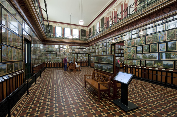 The Marianne North Gallery at Kew Gardens.