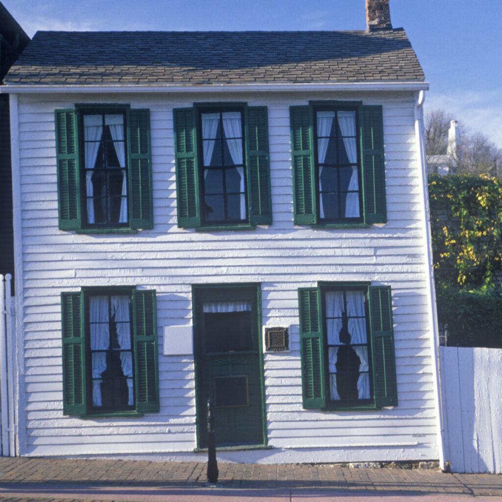 The Mark Twain Boyhood Home and Museum in Hannibal.