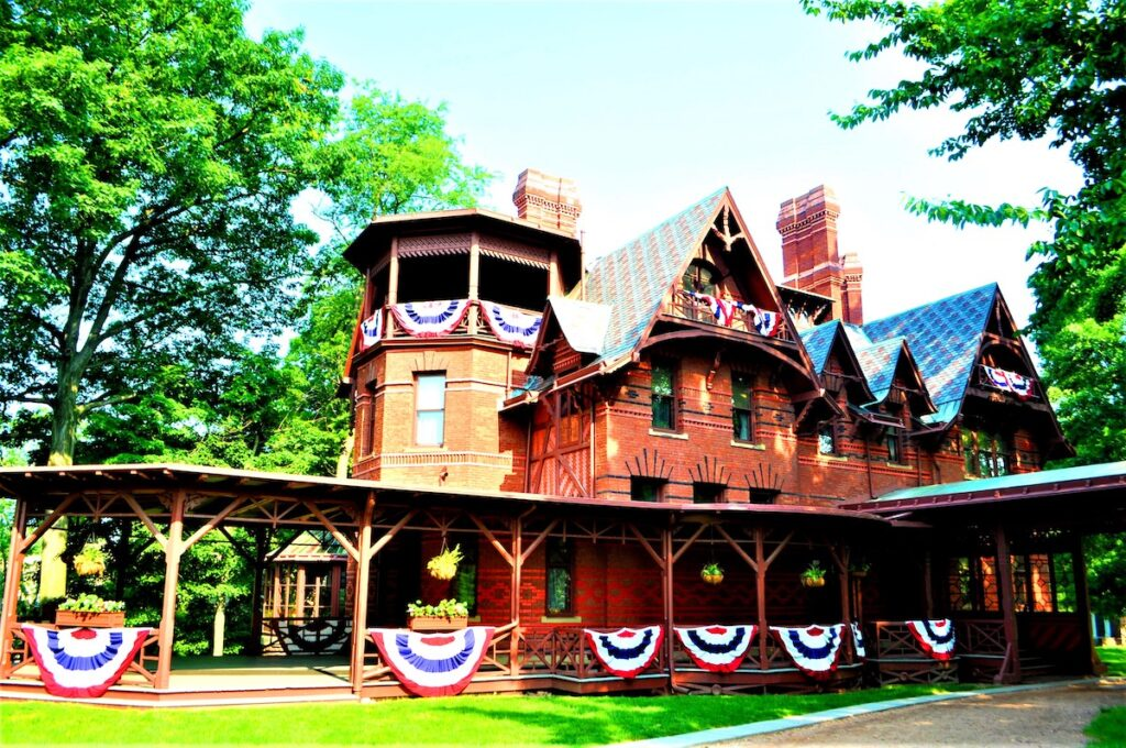 The Mark Twain House and Museum in Hartford.