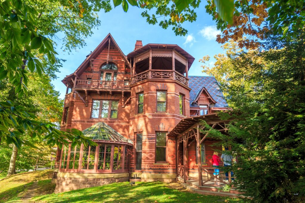 The Mark Twain House in Hartford.