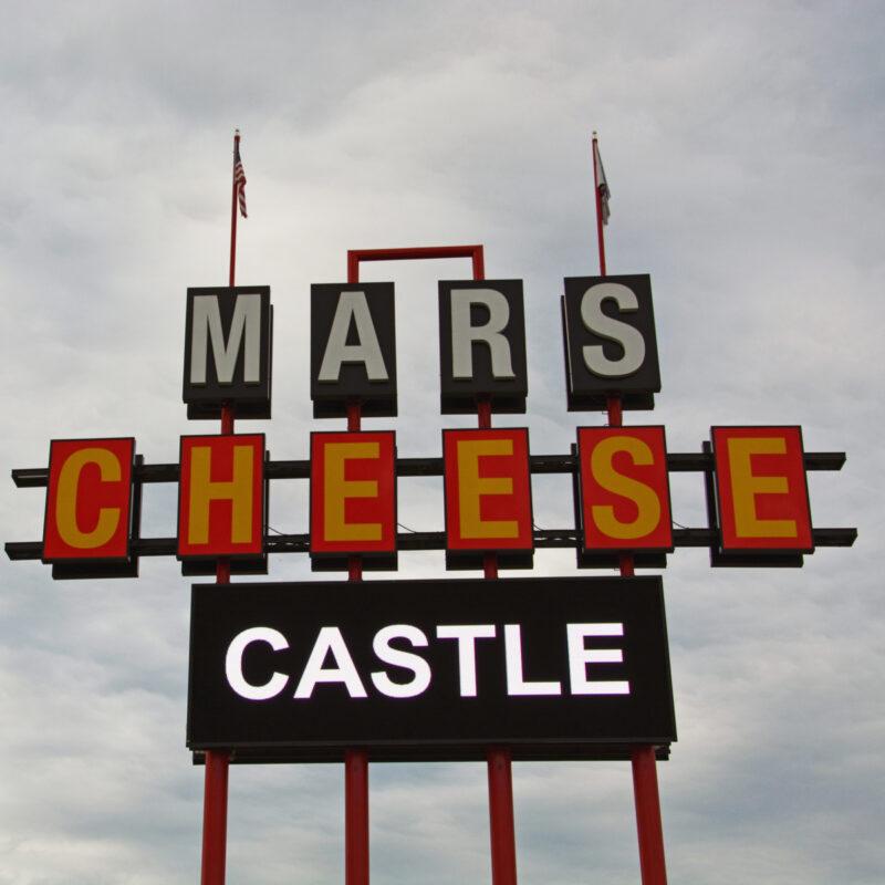 The Mars Cheese Castle in Kenosha, Wisconsin.