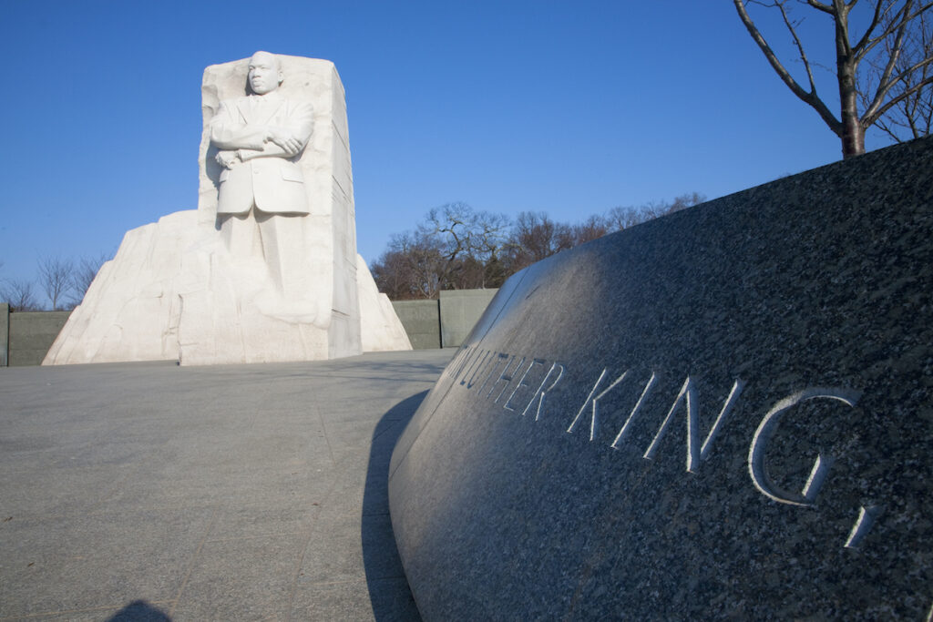 The Martin Luther King Jr. Memorial in Washington, D.C.