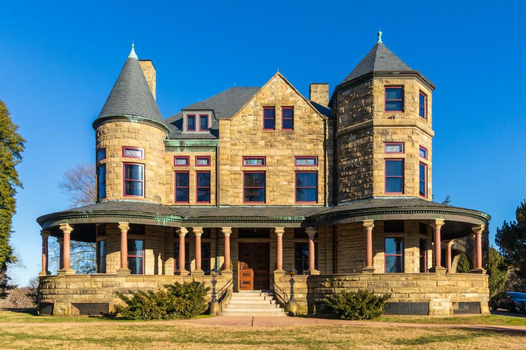 The Maymont Mansion in Richmond, Virginia.
