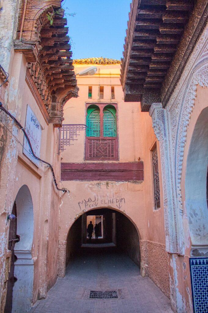 The Meknes medina in Morocco.