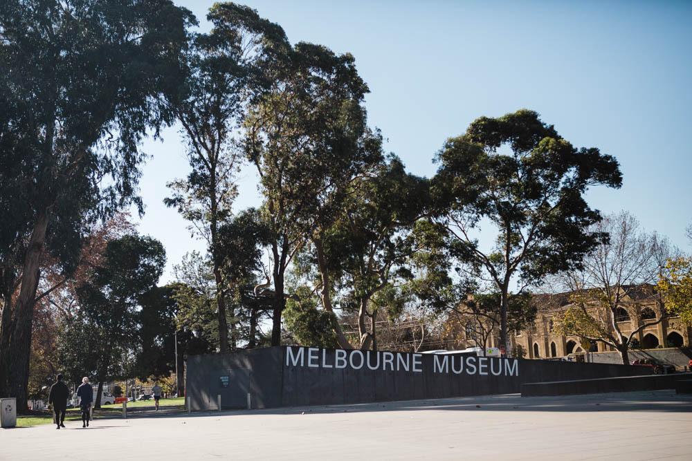 The Melbourne Museum in Australia.
