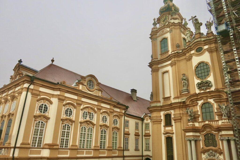 The Melk Abbey in Austria.