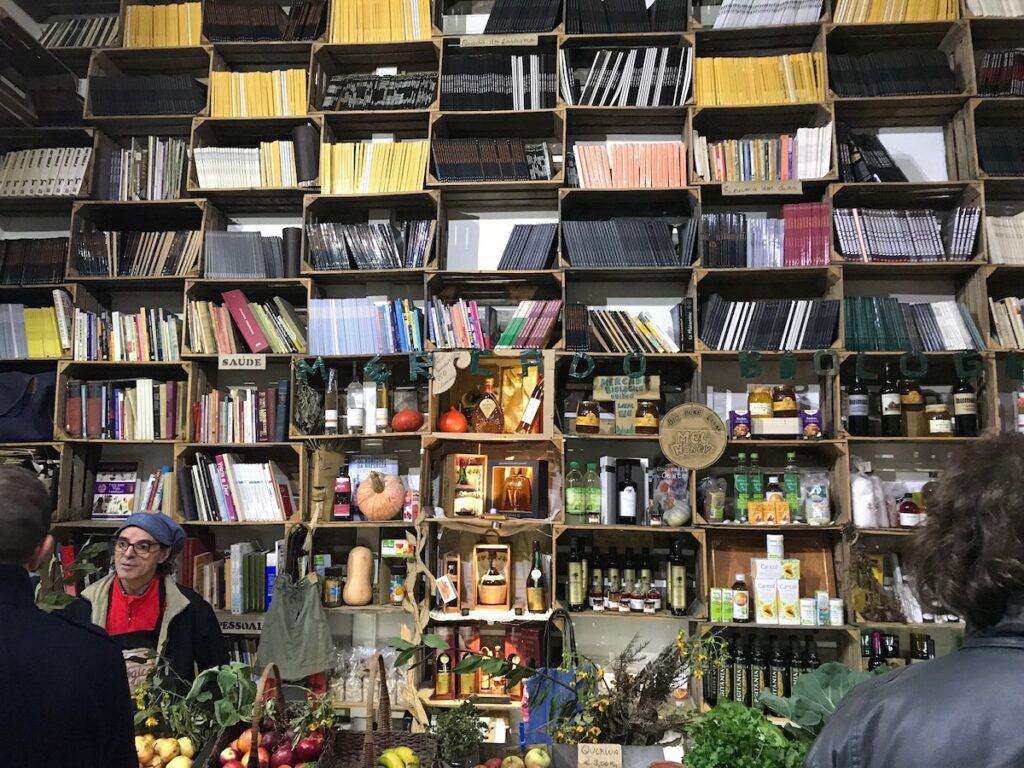 The Mercado Biologico de Obidos.