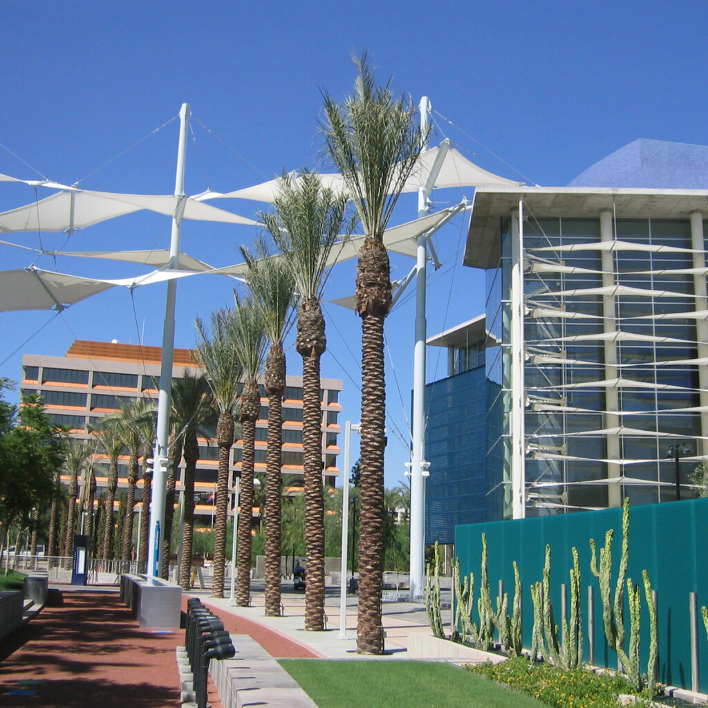 The Mesa Arts Center in Arizona.