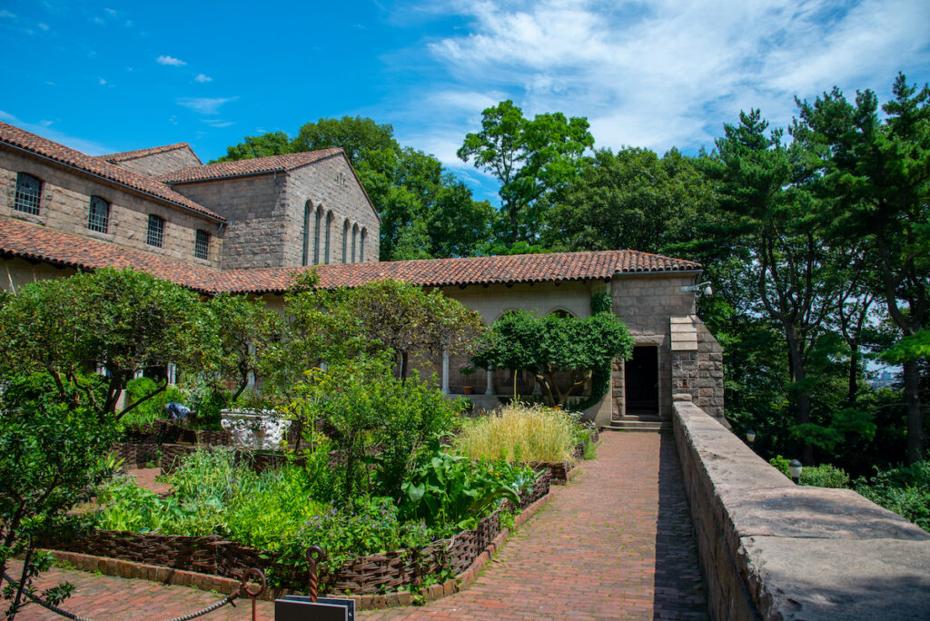 The Met Cloisters in New York City's Fort Tryon Park.