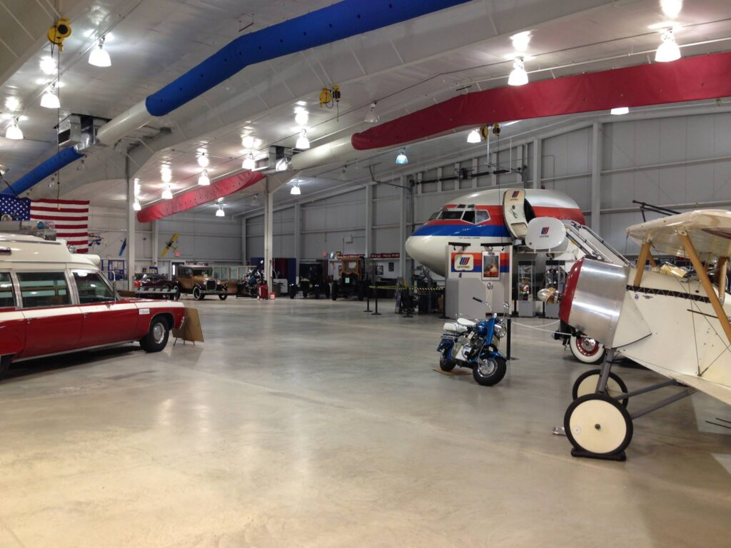 The Mid America Museum of Aviation and Transportation.