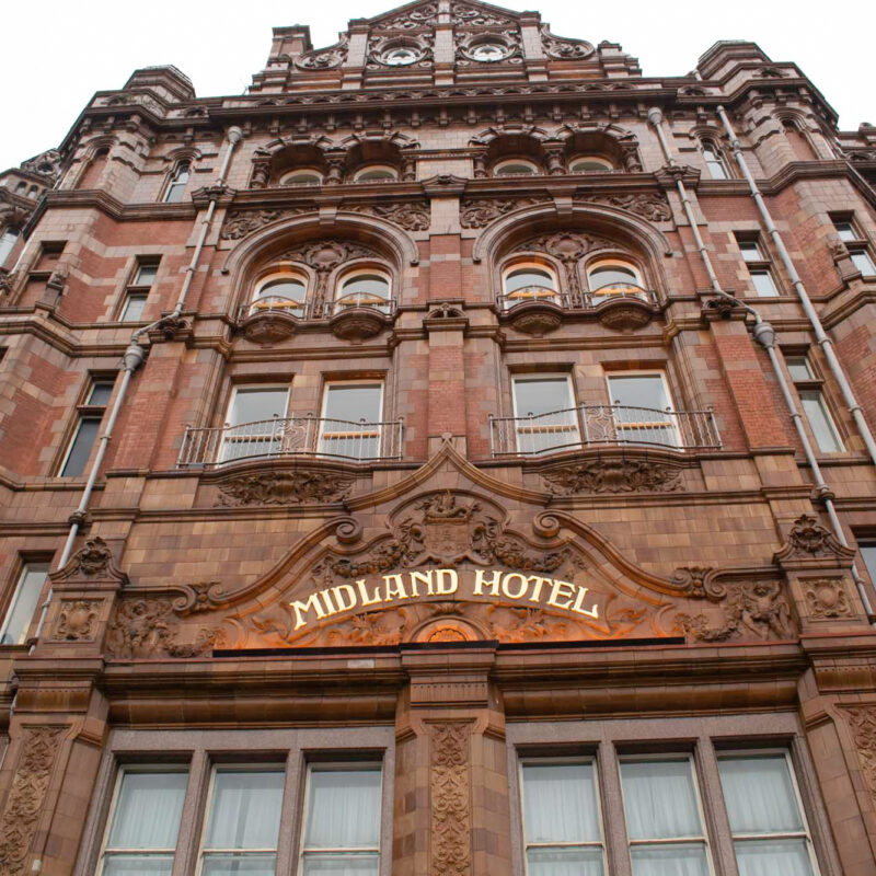 The Midland Hotel and Spa in England.